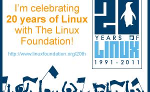 Buon ventesimo compleanno Linux