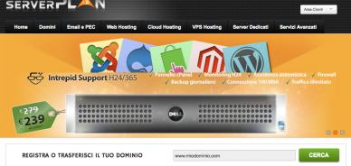 Un nuovo sito web per Serverplan, vieni a scoprirlo