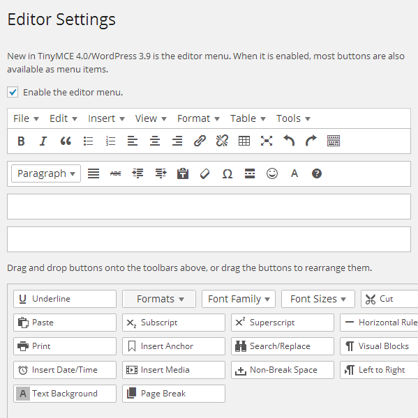 Editor WordPress