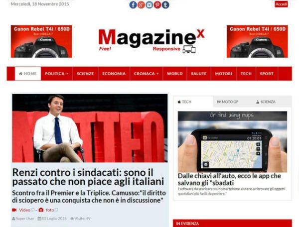 7 template Joomla per creare un magazine online