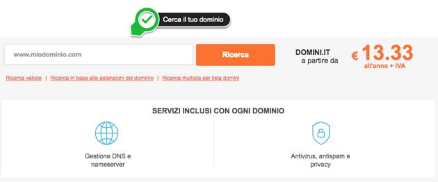 Come comprare un dominio