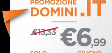 Offerta domini .it per il mese di giugno