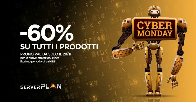 #CyberMonday: le nuove offerte Serverplan