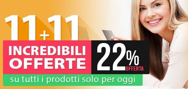 Offerta Hosting: solo per un giorno 22% di sconto sui nuovi acquisti