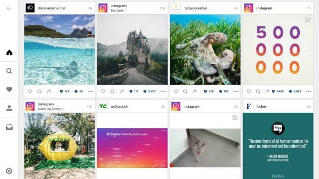 Mettere foto su Instagram da Pc
