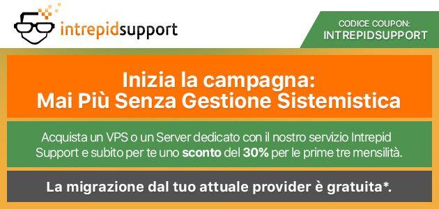 VPS e server dedicati: 30% di sconto