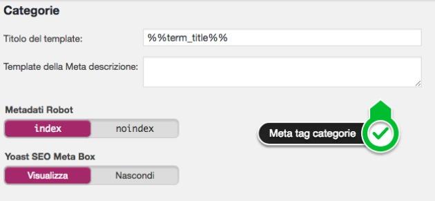 aggiungere meta tag wordpress