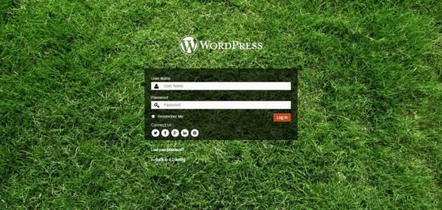 Pagina accesso personalizzata WordPress