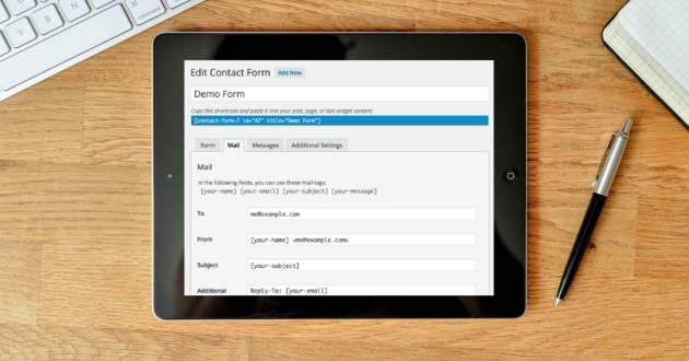 Contact Form 7 non funziona