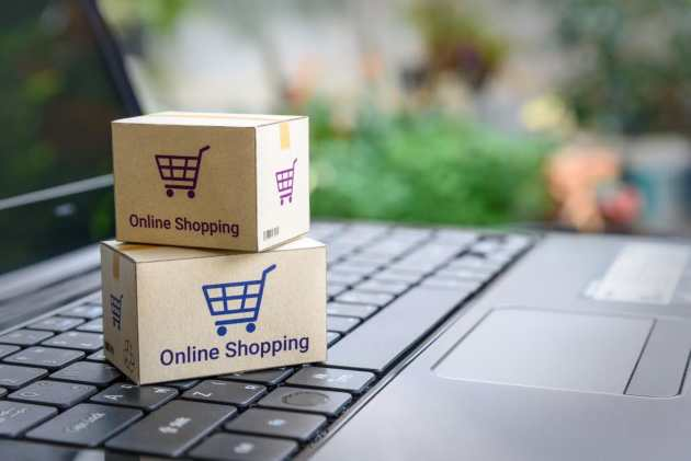 home page ecommerce