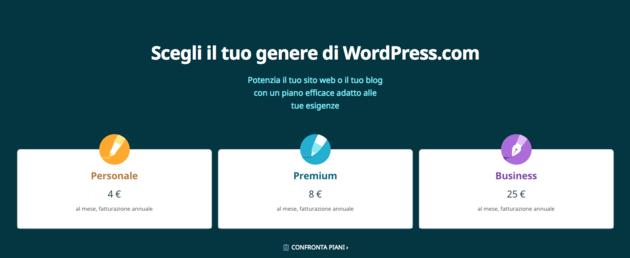 wordpress.com pagamento