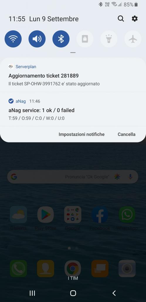 notifica app serverplan