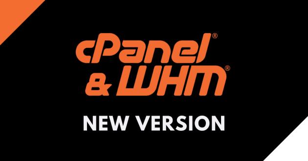 nuova versione cPanel & WHM
