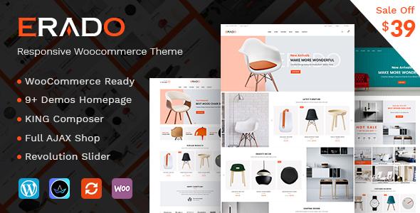 Erado, ecommerce WordPress