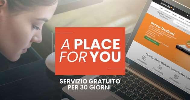 A place for YOU, il servizio di Serverplan che agevola lo smart working