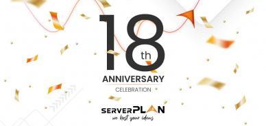 Buon compleanno Serverplan: 18 anni di hosting insieme