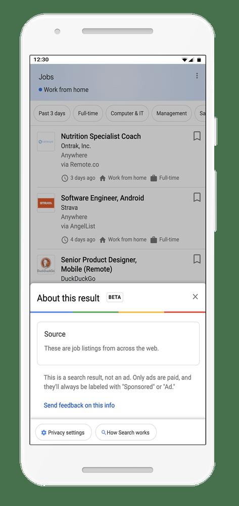 Google mette etichetta HTTPS nella serp