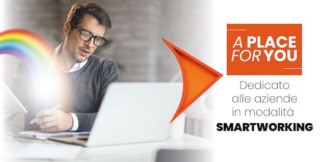 A place for YOU, servizio Serverplan per lavorare in smart working