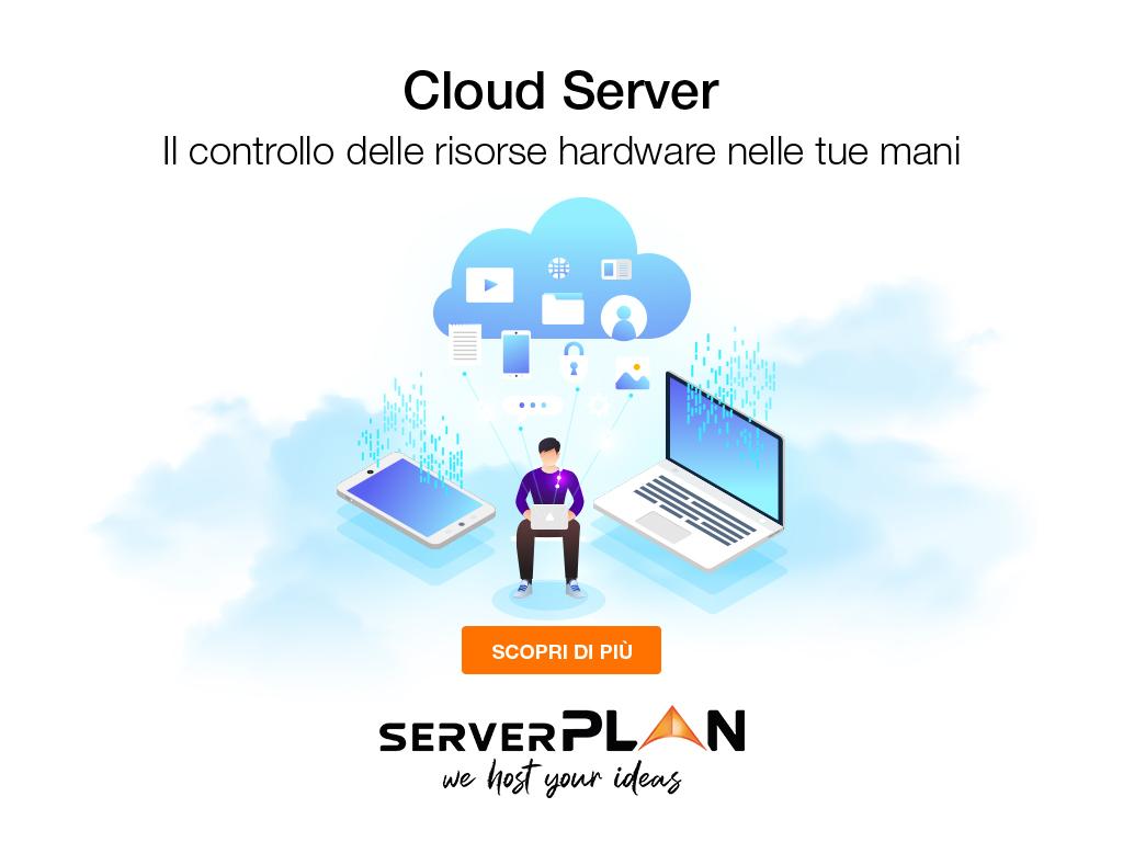 Cloud hosting - Cloud server